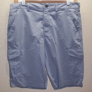 "NIKE/HURLEY 34"" 6%Spandex Dri-Fit cargo shorts"